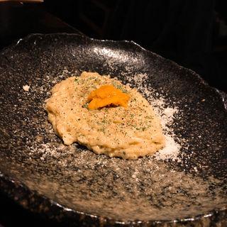 ウニクリームリゾット(サケバ (sakeba))