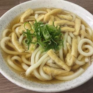 きざみうどん(都そば 四条店 (みやこそば))