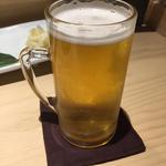 生ビール 小グラス