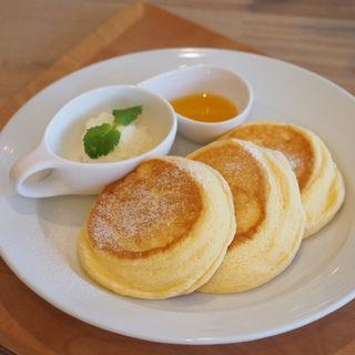 夢みるパンケーキ プレーン(ニノーバルウォッシュカフェ)