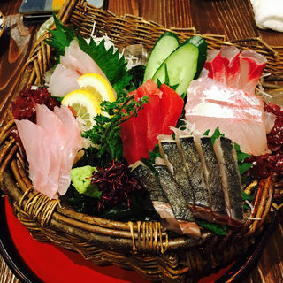 漁師のいいとこ盛り(四十八漁場 秋葉原昭和通り口店 )