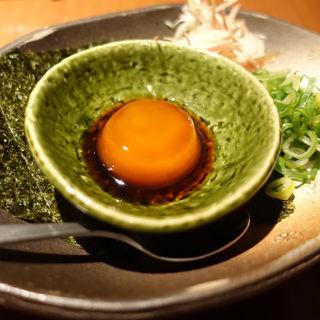 黄卵の醤油漬け(福栄組合 道頓堀店 )