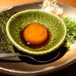 黄卵の醤油漬け