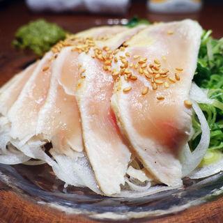 鶏たたき(はかた地どり 福栄組合 道頓堀店)