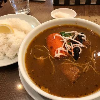 豚の角煮スープカレー(グリル 北斗星 (ホクトセイ))