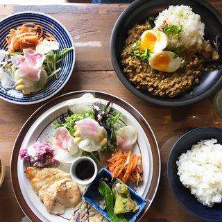 ランチ(上木食堂)
