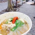 きのこと野菜のスープカレー(スープカレー syukur 自由が丘店 (シュクル))
