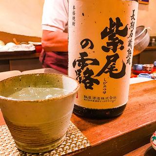 焼酎 紫尾の露(馬場頭 ふろ (ババガシラフロ))