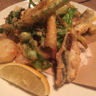 野菜と魚のフリッター(ミルヴァン フィオーリ)