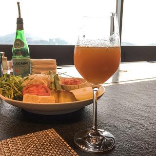 オレンジジュース(鉄板焼きダイニング竹彩)