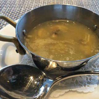 オニオンスープ(鉄板焼きダイニング竹彩)