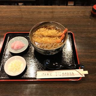 天ぷらそば(北野屋支店)