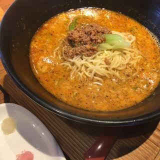 ◆名物!坦麺スープ茶漬けセット(担々麺 錦城 春日井店 (たんたんめん きんじょう))