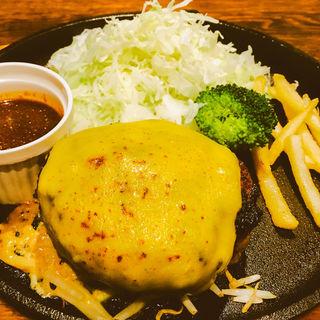 焼肉屋の朝挽きハンバーグ(ブラックホールセントラルロード店 )