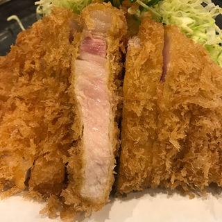 上ロースかつ定食(とん太 (とんた))