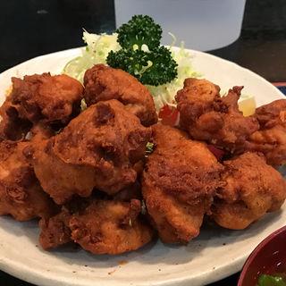 若鶏肉の唐揚げ定食(串よし )