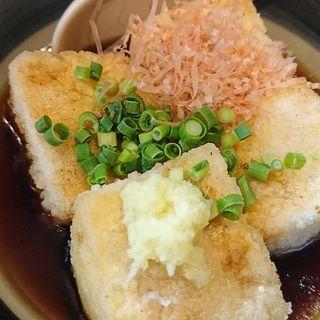 揚げ出し豆腐(居酒屋 山心)