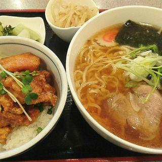 唐揚げ&ラーメン ランチ(金竜 )