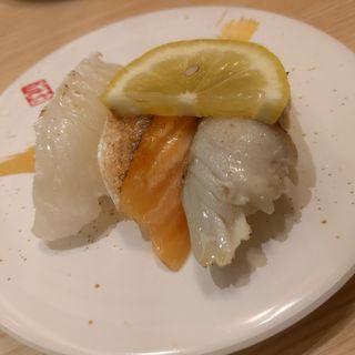 炙り3貫(魚屋路横浜十日市場店 )