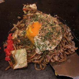 ミックスソース焼きそば 太麺(鉄板仕事人 じゅじゅまる )