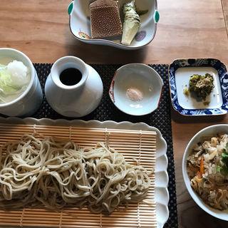 天ざる膳(江戸蕎麦平家)