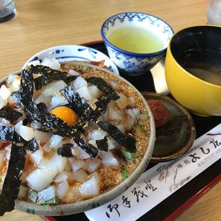 イカ丼セット(ドライブイン よしだ )