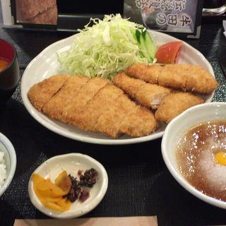 チキンロース定食(とんかつ料理 さち )