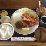 Wエビフライ&ヒレカツ定食(こだわりとんかつ播 )