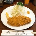 ロースかつ定食(勝漫 (かつまん))