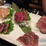 肉刺盛合せ(5種盛り)