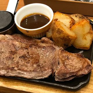 アンガス リブアイステーキ(ココス 小浜店 )