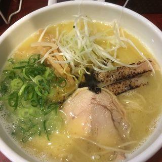 塩かけ・トッピングA(鶏だし中華そば かね壱)