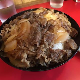 牛丼(まるやす食堂)