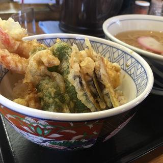 かき揚げ丼セット(ウエスト 春吉店 (生そばうどんウエスト))