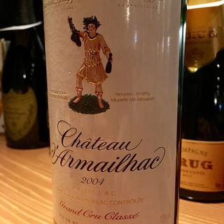 Chateau d'Armailhac 2004(Wine & Bar Oka)
