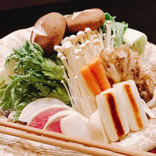 鶏鍋(床島)
