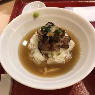 鴨とり飯(燃えよ麺助)