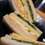 野菜とハムのミックスサンド(市川屋珈琲 )