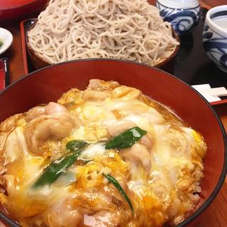 親子丼と蕎麦(司津屋 (しづや))