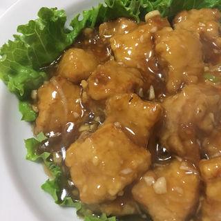 にんにく入り強味酢豚(チャイナ六国 )
