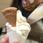 バナナソフトクリーム(サンフルーツ日本橋三越店)