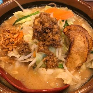 北海道味噌野菜ラーメン(麺場 田所商店 木更津店 )