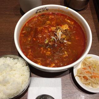 ユッケジャンスープ(チェゴヤ 深川ギャザリア店 )