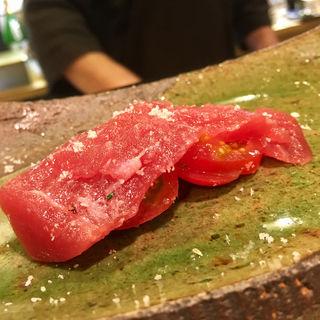 赤身 トマトはさみ(たく海 )