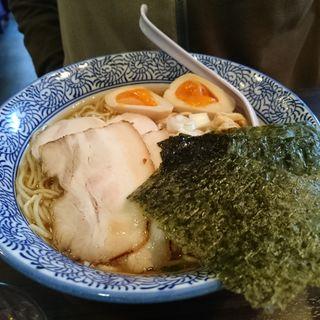 特製煮干し中華そば + 麺大盛(極上煮干し鶏そば やまだ邸)