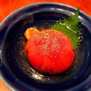 トマトの干梅甘酢ピクルス(博多うどん酒場イチカバチカ)