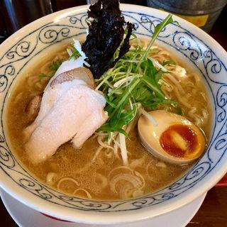 鶏骨醤油ラーメン大盛(鶏骨スープ 青桐 (けいこつすーぷあおぎり))