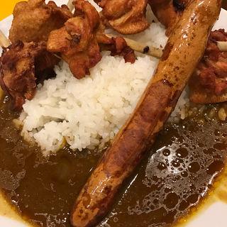 チキンとウインナーカレー(辛来飯 (カーライス))