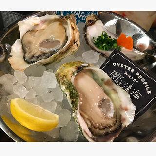 岩牡蠣(Oyster Bar wharf)