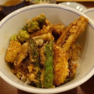 穴子天丼(限定食)(天ぷら 逢坂 (てんぷらおおさか))